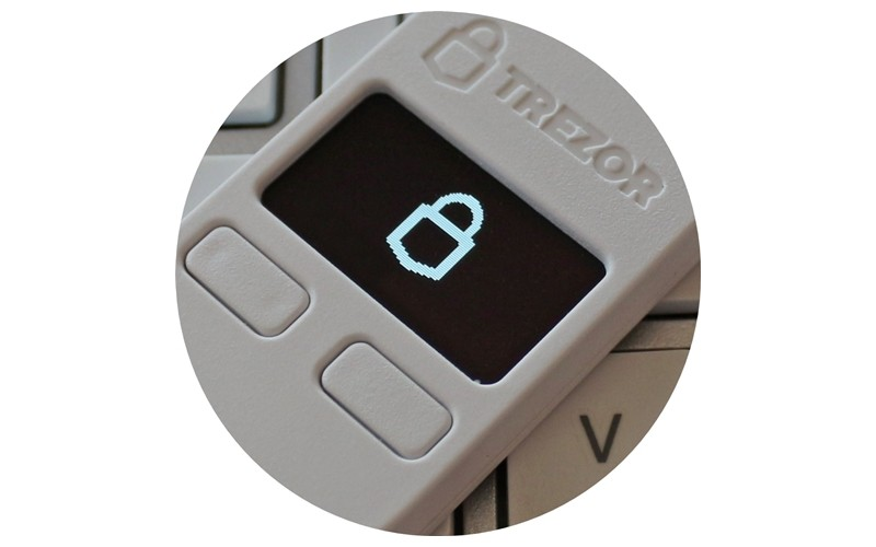 Trezor pinigine bitcoinams
